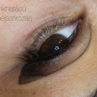 Sminkhatású szemhéjsatírozás