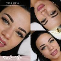 Kiss Daniella - Hybrid Brows szemöldök tetoválás