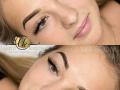Ombre brows szemöldök tetoválás