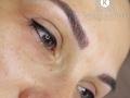 Microblading (japán) szemöldök szemhéjkontúr tetoválással