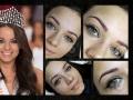 Kiss Daniella Magyarország Szépe 2015 - ultra természetes szálazott szemöldök tetoválás